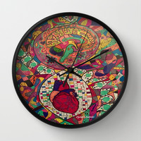 Balance within Wall Clock by Cyndi Sabido