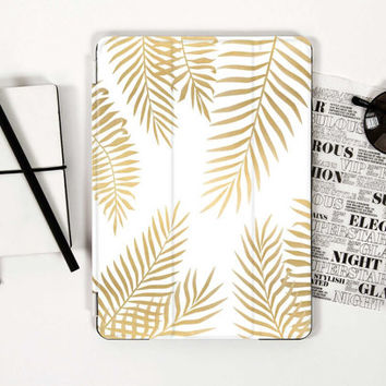 Golden Leaves Smart Cover for iPad Mini iPad Air iPad Pro 12.9 iPad Pro 9.7 iPad Mini 4 iPad Mini 2 iPad Air 2 iPad Mini 4 Case iPad 3