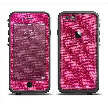 The Pink Fabric Apple iPhone 6 LifeProof Fre Case Skin Set