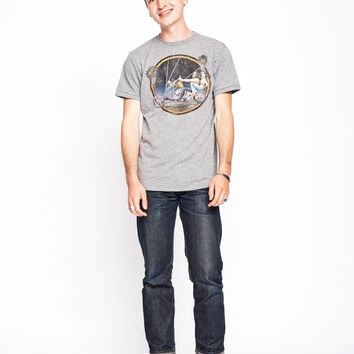 Chopper Love Men's Crew - Heather Grey
