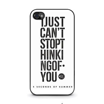 5 SECONDS OF SUMMER 6 5SOS iPhone 4 / 4S Case Cover