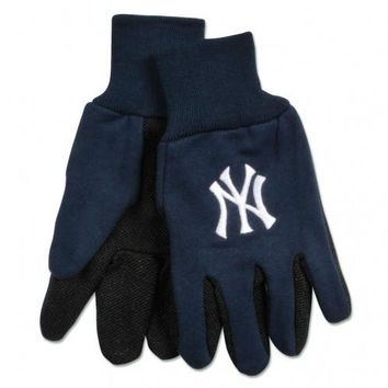 New York Yankees - Adult Two-Tone Sport Utility Gloves