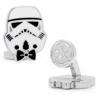 Star Wars Storm Trooper Cuff Links (White)