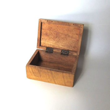 Shop Small Vintage Wood Boxes on Wanelo