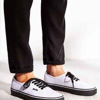 Vans Authentic Black Sole