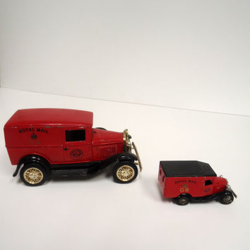 Collectible Lledo Days Gone Royal Mail Die-Cast Vintage Armored Car Piggy Bank Limited. Edition
