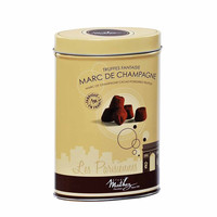 Mathez - Marc de Champagne Cacao Powdered Truffle, 7.1 oz