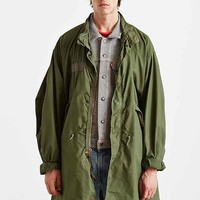 Urban Renewal Vintage Unlined Fishtail Parka- Green