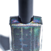 SUPER BLACK Switch Nail Polish Holographic Black One