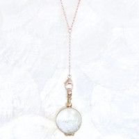 Limited Edition Sands of Time Shake Necklace - Small Pendant