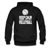 Keep Calm and Play Volleyball hoodie sweatshirt tshirt