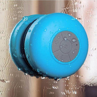 Mini Ultra Portable Waterproof Wireless Bluetooth Speaker with Suction Cup for Showers
