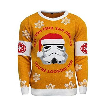 Official Star Wars Stormtrooper Christmas Jumper / Ugly Sweater
