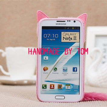 Cute Soft Toy Cat plush cat sumsang galaxy s4 case by hicase