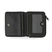 Matte Black Fold Out Zip Wallet - View All Accessories - Shoes and Accessories