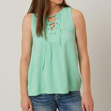 Loveriche Lace-Up Tank Top