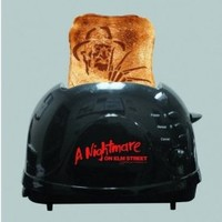 A Nightmare on Elm Street Freddy Krueger Bread Toaster