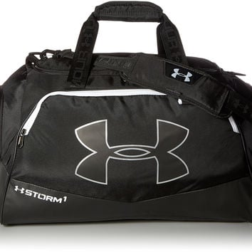 Under Armour Storm Undeniable II Medium Duffle(One Size Fits All) Black/Black/White One Size