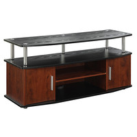 Convenience Concepts 151401 Designs2go Monterey Cherry and Black TV Stand