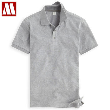 New arrival Summer Casual Men's Lapel Polo shirt Quality