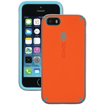 SPECK SPK-A3127 iPhone(R) 5/5s MightyShell(TM) Case (Carrot Orange/Speck Blue/Slate Gray)