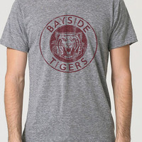 Mens / Unisex BAYSIDE TRI-BLEND T-Shirt tigers saved by the bell vintage retro super soft american apparel track tee sm med lg xl 2x 478