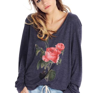 Clare V-Neck Baggy Beach Jumper