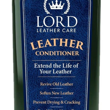 Lord Leather Conditioner | Leather Restorer & Leather Protector for Furniture...