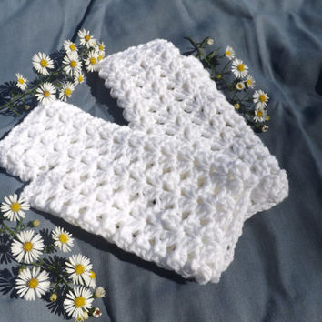Texting Gloves Crochet for Women and Teen Girl's Winter, Handwarmers
