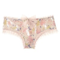 Victoria's Secret Darling Sequin Hiphugger Panty
