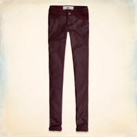 Hollister Coated Front Jeggings