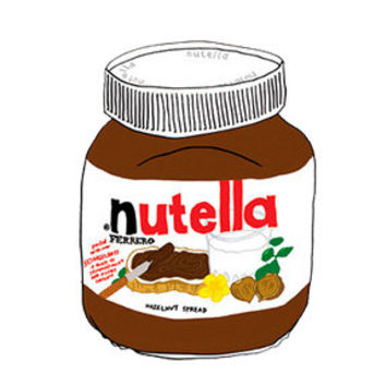 Nutella Decal