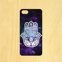 Hamsa Hand Version 3 iPhone 4/4S 5/5C 6/6+ and Samsung Galaxy S3/S4/S5 Phone Case
