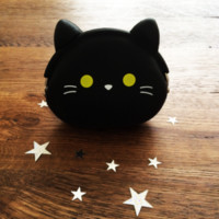 (Imperfect Seconds) Squishy cat coin purse