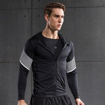 PEAPFS2 Fitness Compression Shirt Men Quick Dry running Shirt Long Sleeves Tshirt Fitness Clothing Bodybuild Crossfit T shirt