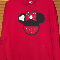 Sweatshirt Hoodie - Mickey Minnie Mouse - Disney Birthday Family Custom Sweat Shirt Personalized Applique