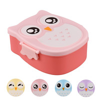 1050ML fun character plastic Lunch Box