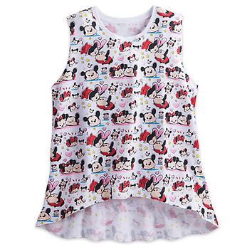 Mickey and Minnie Mouse ''Tsum Tsum'' Tank for Juniors | Disney Store