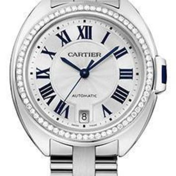 Cartier - Cle de Cartier 35mm - White Gold and Diamonds