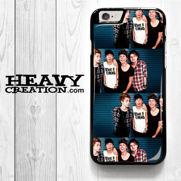 5Sos Ashton Irwin for iPhone 4 4S 5 5S 5C 6 6 Plus , iPod Touch 4 5  , Samsung Galaxy S3 S4 S5 S6 S6 Edge Note 3 Note 4 , and HTC One X M7 M8 Case