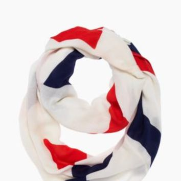 abstract bow infinity scarf - kate spade new york