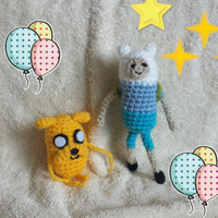 Time Adventure Dog, Yellow Dog, Crochet and Stuffed Toy, Handmade Movie Hero, Amigurumi dog