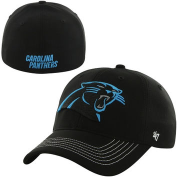 6f59f92c89c Carolina Panthers  47 Brand Game Time Closer Flex Hat – Black