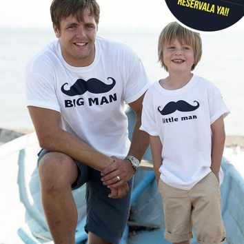 Father Son Matching Family T Shirt