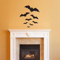 Bats Wall Decal - Halloween Decor - Bat Stickers