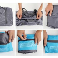 Traveler Camper Waterproof Nylon Travel Bag