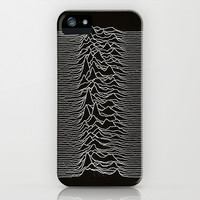 Joy Division logo  iPhone & iPod Case by Evan Daros