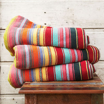 Double wide sundance striped beach towel from sundance catalog for Roberts designs bathroom accessories