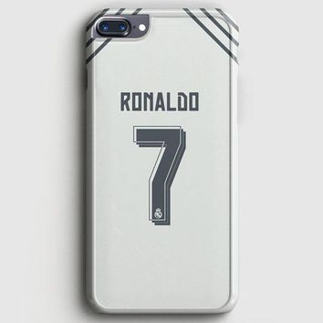 Cristian Ronaldo Real Madrid Jersey New Kit iPhone 8 Plus Case | casescraft