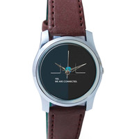 Yes We are Connected Wrist Watch